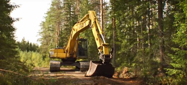 maansiirto- ja maarakennustöitä video jylhän sora
